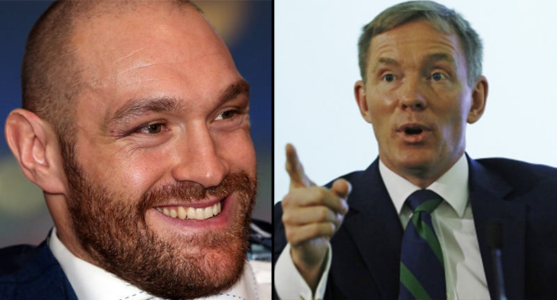 An MP Has Challenged Tyson Fury To A Fight After Homosexuality Comments fury mp FB