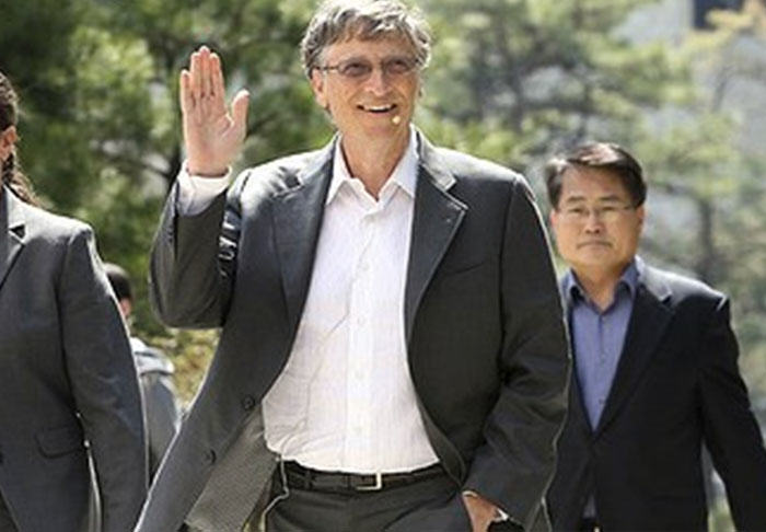 Ten Weird Habits And Passions Of Powerful World Figures gates