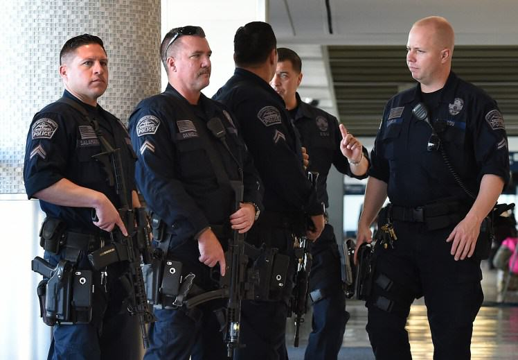 American Armed Guards Could Be Stationed At British Airports And Its Pretty Terrifying gettyimages 498754842 1