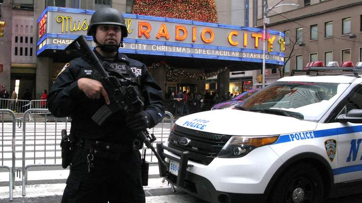 Police Foil New York Terrorist Attack Plot Planned For New Years Eve gettyimages 502432530 1 736x414
