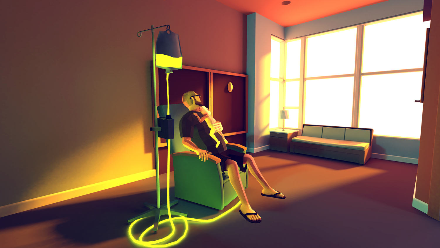 Parents Make Heartbreaking Video Game About Their Childs Terminal Cancer green drip