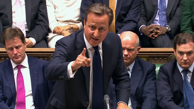 David Cameron in Syria Commons debate