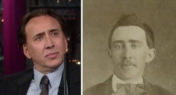 These Pictures Show Putin Isnt The Only Immortal Famous Guy heres nic cage and his doppelganger little is known about the man besides that he supposedly served in the civil war