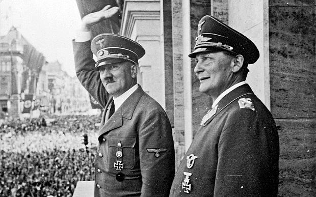 Researchers Discover Childrens Rhyme About Hitler Couldve Been True All Along hitler goering 3369036b 1