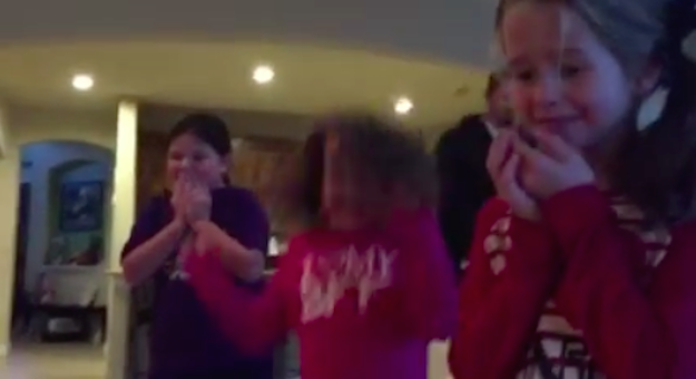 These Sisters Received A Human For Christmas human3
