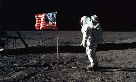 Eight Reasons People Are Convinced The Moon Landings Were A Hoax image