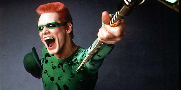 Police Hunting Wannabe Riddler Burning Down Buildings And Taunting Them jim carrey 68719