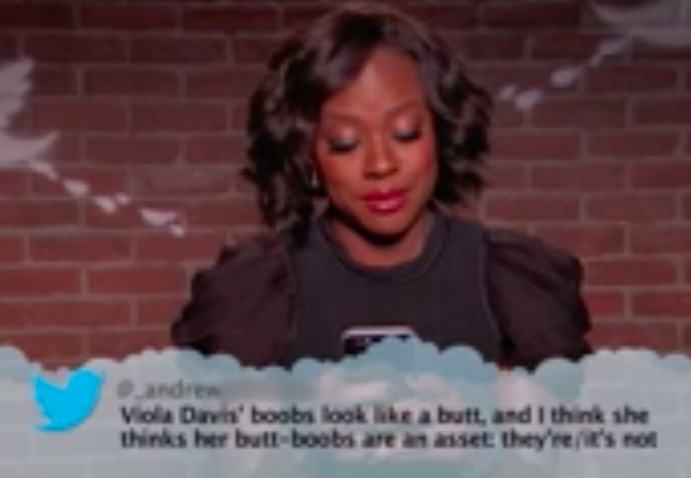 Watch Celebrities Read Hilarious Mean Tweets About Themselves On TV jimmy10