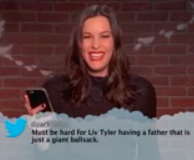Watch Celebrities Read Hilarious Mean Tweets About Themselves On TV jimmy2