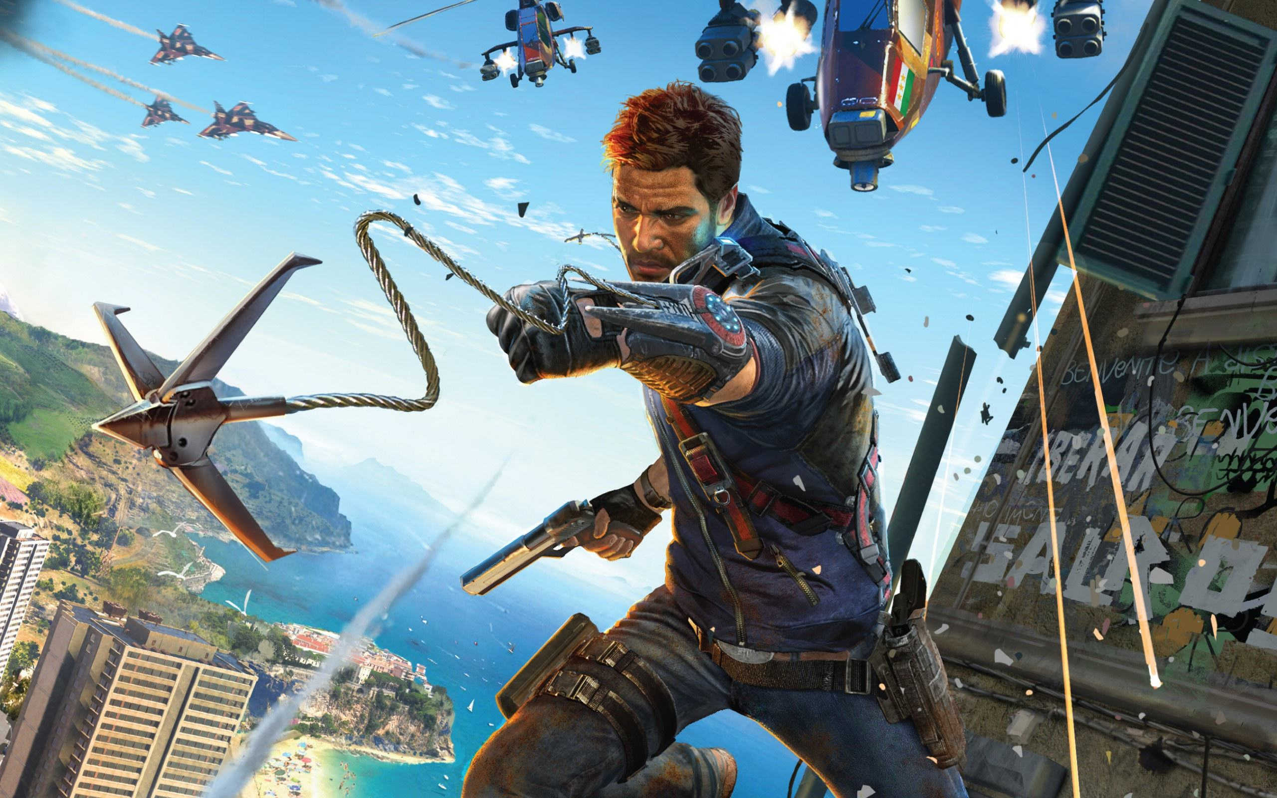 Just Cause 3 Has Plenty Of Style, But Ultimately Not Enough Substance just cause 3 2560x1600