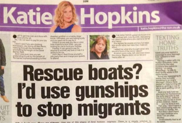 Five Times Katie Hopkins Chatted Absolute Shite In 2015 katieHopkins1