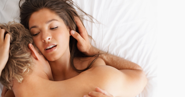 Survey Reveals Where Women Like To Be Touched During Sex man and woman having sex on bed