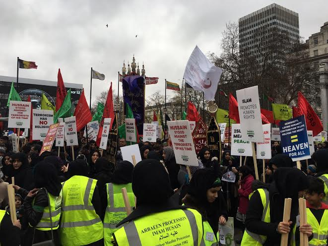 Hundreds Of Muslims Flooded London To Condemn Terrorism, The Media Ignored It march3