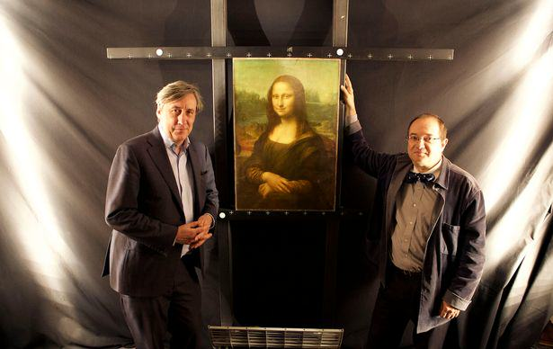 French Scientist Claims There Is A Hidden Image Underneath The Mona Lisa mona lisa2