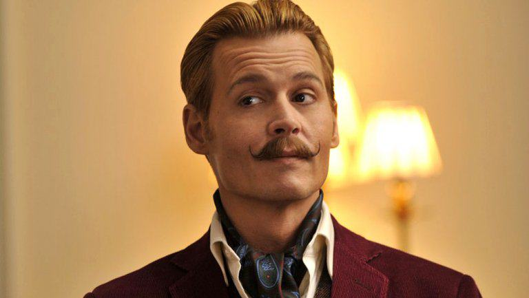 Johnny Depp Named The Most Overpaid Hollywood Actor Of 2015 mortdecai still a l