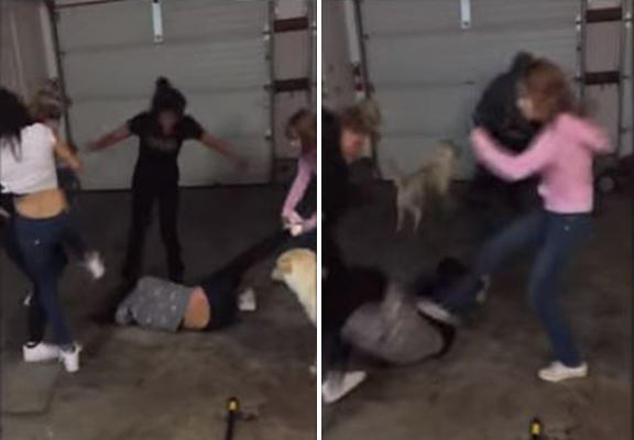 Teen Bullies Upload Video Of Brutal Attack On Friend At Sleepover naomi attack WEB