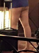 Is This Viral Photo Of Pants Less Hotel Guest The New Dress? pants or no 1