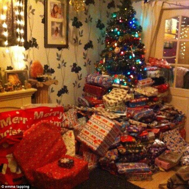 Mother Spends £1,500 On Christmas Presents, Insists Children Are Not Spoilt presents5