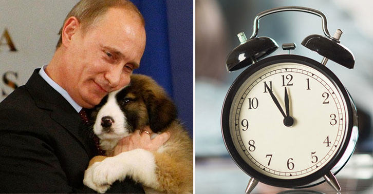 Ten Weird Habits And Passions Of Powerful World Figures putin