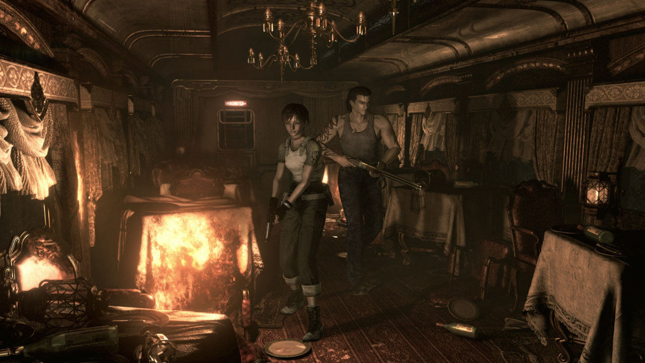 Resident Evil Zero HD Remake Gets Release Date And New Images resident evil 0 1