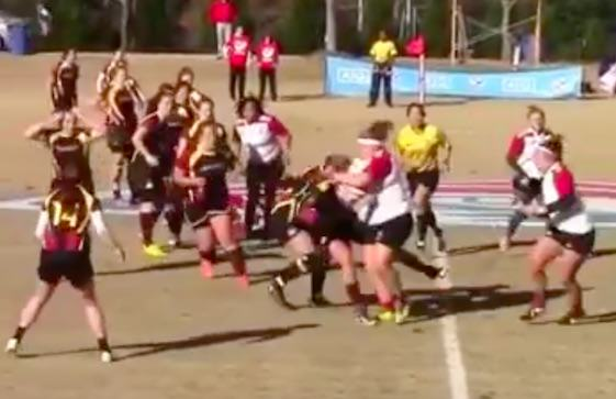 Anyone Who Thinks Womens Rugby Is Soft Should Watch This Video, Its Brutal rugby2