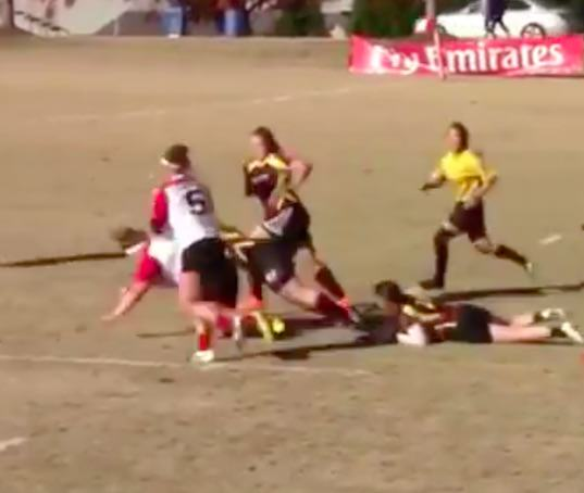 Anyone Who Thinks Womens Rugby Is Soft Should Watch This Video, Its Brutal rugby3