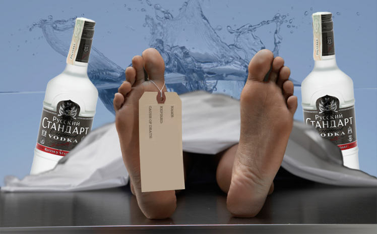 Russian Man Dies After Downing Vodka, Wakes Up In Morgue, Carries On Drinking russia4 1