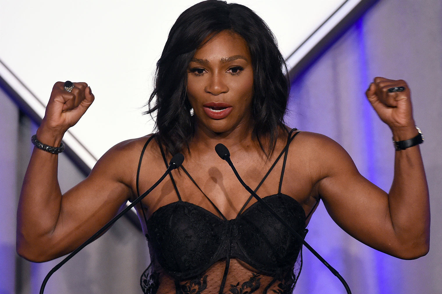 Serena Williams Sportsperson Of The Year Speech Just Destroyed Haters serenasport