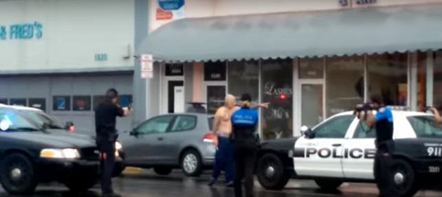 Shocking Video Shows Police Fatally Shooting Robbery Suspect At Close Range shooting 1