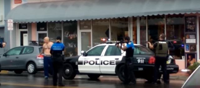 Shocking Video Shows Police Fatally Shooting Robbery Suspect At Close Range shooting 2