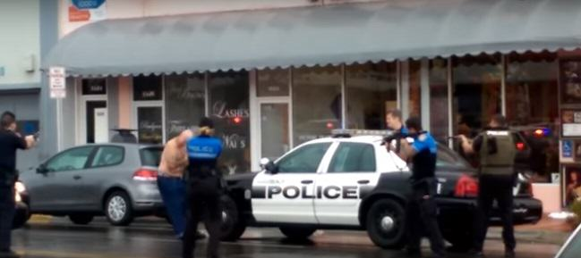 Shocking Video Shows Police Fatally Shooting Robbery Suspect At Close Range shooting 3