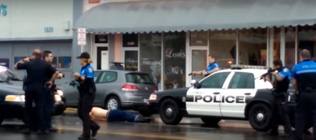 Shocking Video Shows Police Fatally Shooting Robbery Suspect At Close Range shooting 5