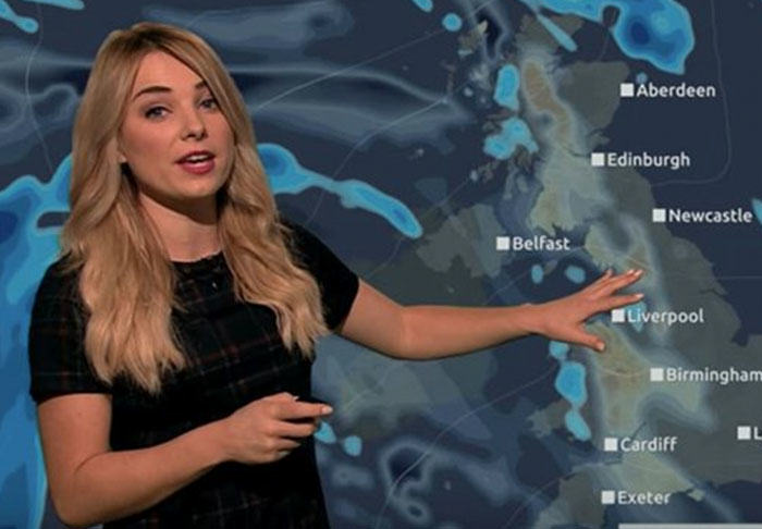 Weather Girl Goes Rogue And Does Full Report Only Using Star