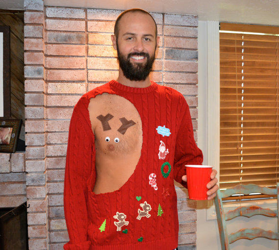 Have A Very Nippy Christmas With These Hilarious NSFW Jumpers sweater 3