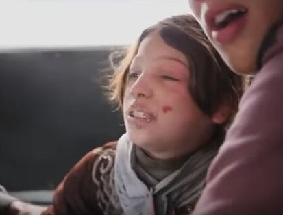 Syrian Girl Hit By Airstrike Thanks Rescuers In Heart Wrenching Video syria 1