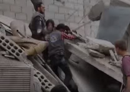 Syrian Girl Hit By Airstrike Thanks Rescuers In Heart Wrenching Video syria 21
