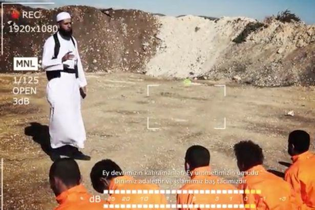 Syrian Rebels Hold ISIS Fighters At Gunpoint But This Is No Ordinary Execution Video syrian execution video 2