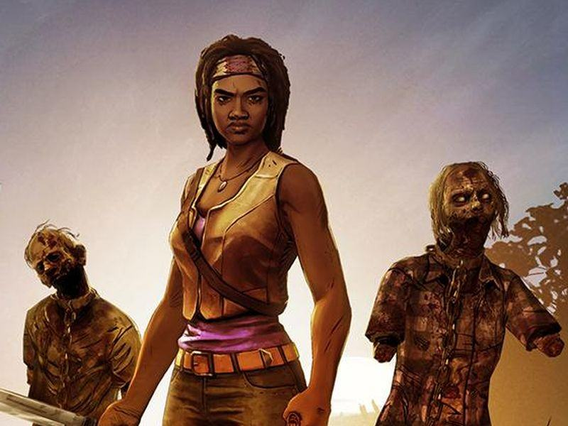 Telltale Release Trailer For The Walking Dead: Michonne Miniseries the walking dead michoone