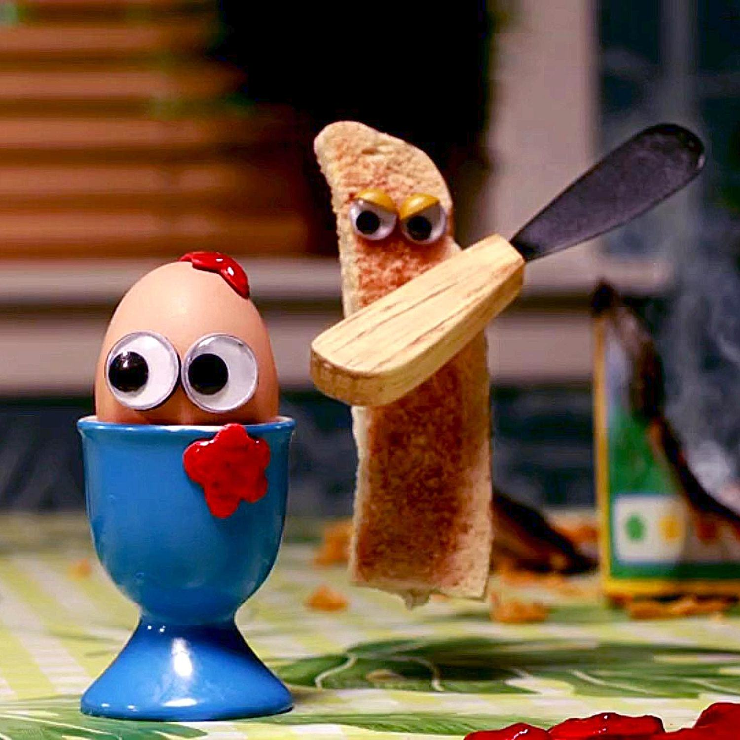 People Not Happy Over Shocking ISIS Style Beheading On BBC Kids Show toast1