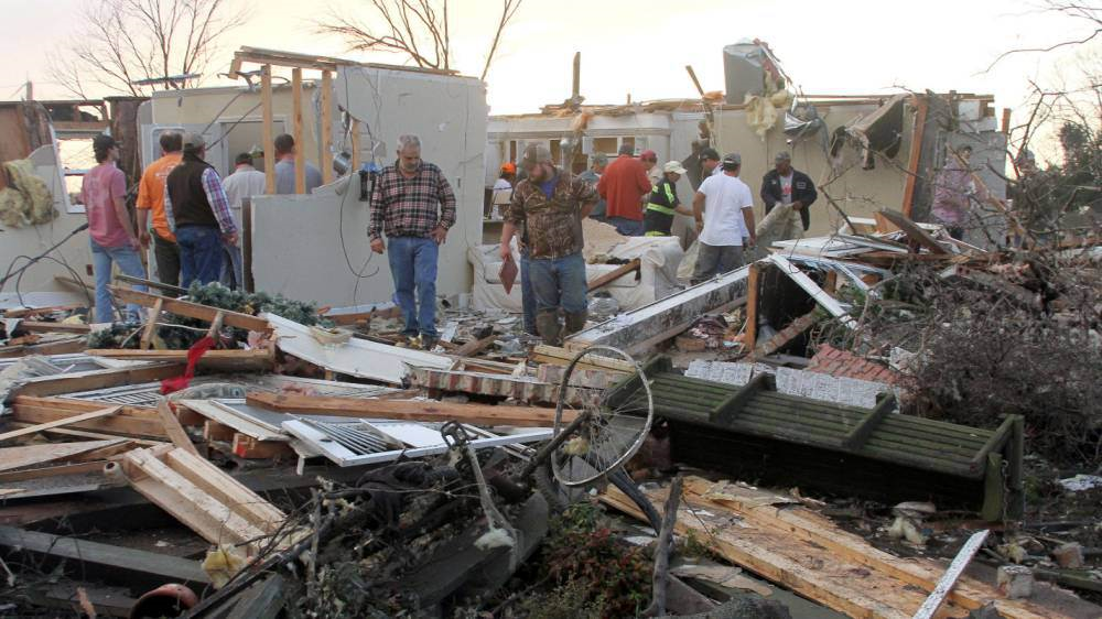 Tornadoes Cause Havoc In USA, Reportedly Kill At Least 14 People torn