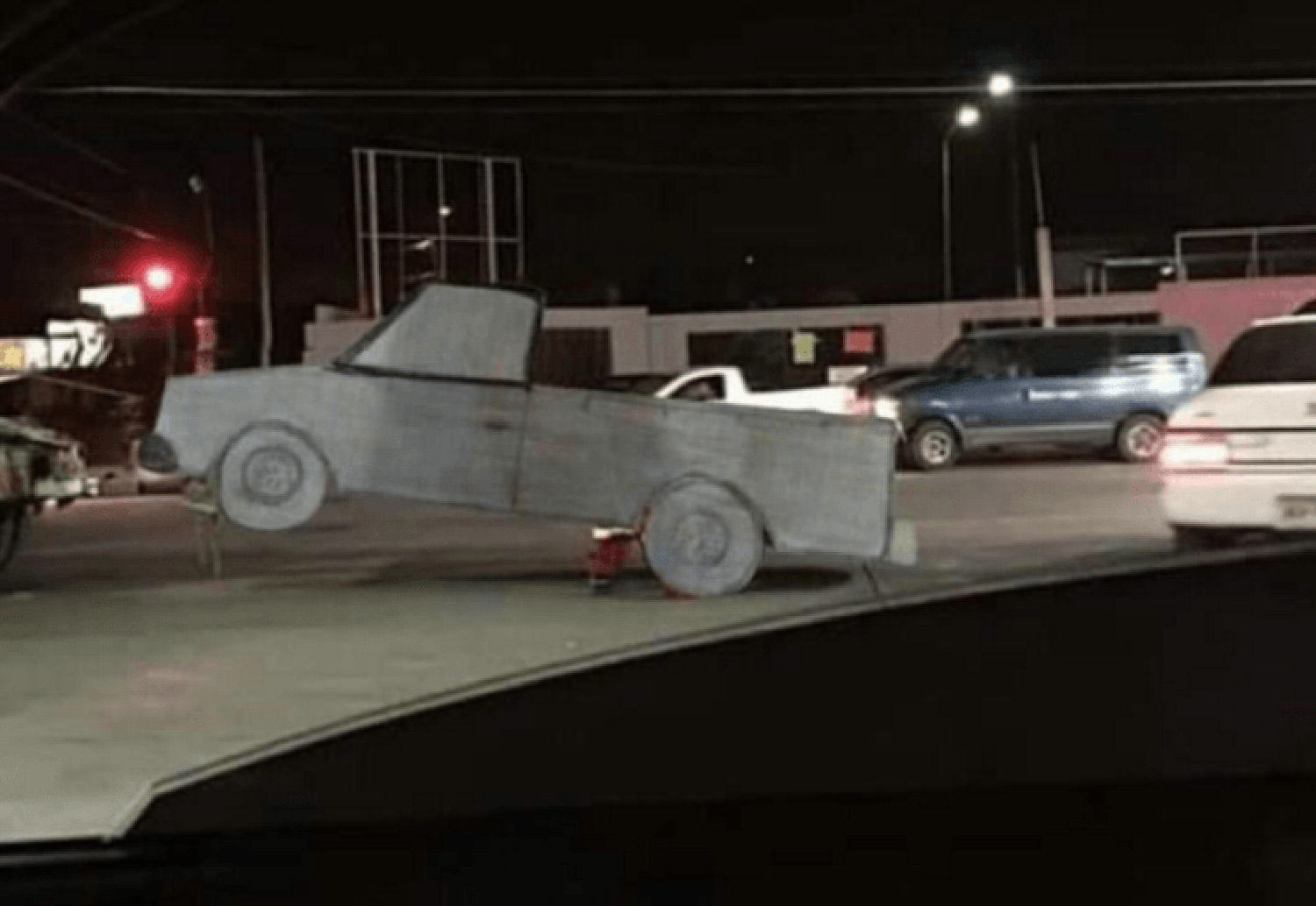 Woman Drew Stolen Truck And Asked Internet To Find It, Guess What Happened Next truck funny 7