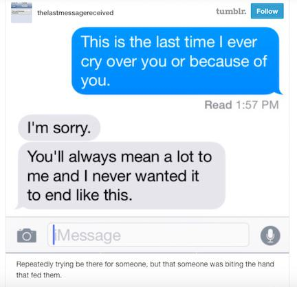 This Tumblr Shares The Last Messages People Ever Sent tumblr6