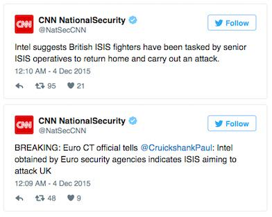 Terrorism Analyst Says UK Could Be Next Target For Paris Style Attack tweet1