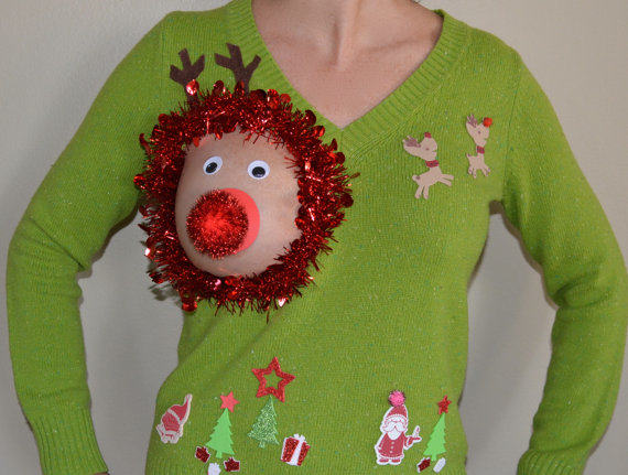 Have A Very Nippy Christmas With These Hilarious NSFW Jumpers ugly christmas sweater