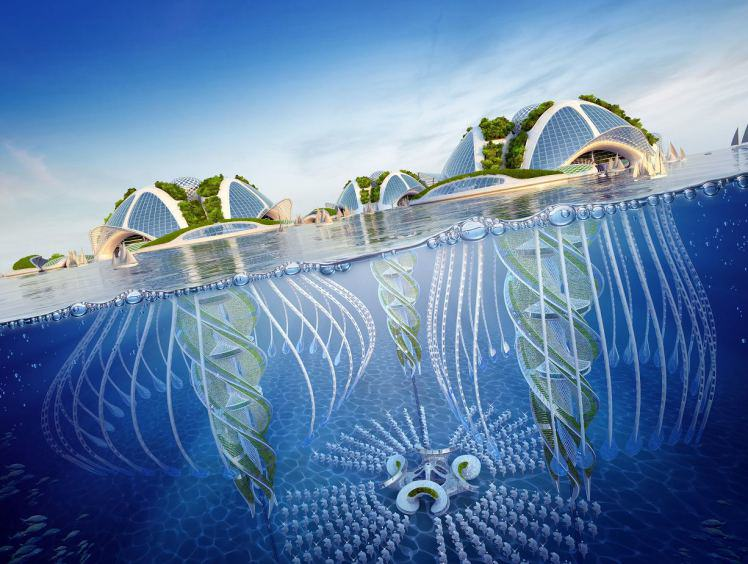These Underwater Cities Look As Epic As They Sound underwater