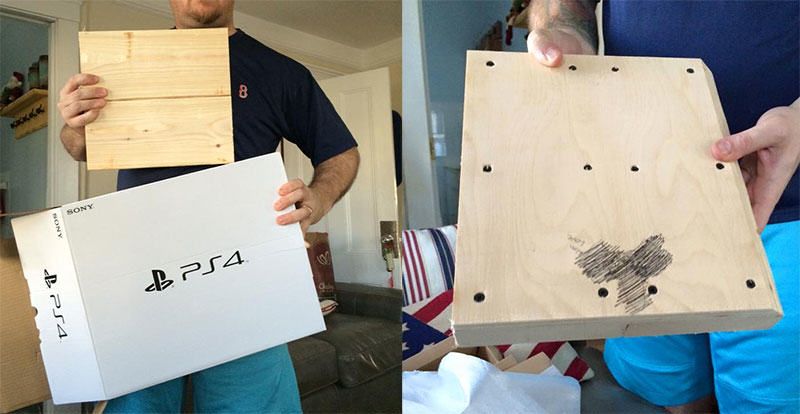Lad Wanted PS4 For Christmas, Got Lewd Block Of Wood Instead vfangisuqgh9uppq1wti