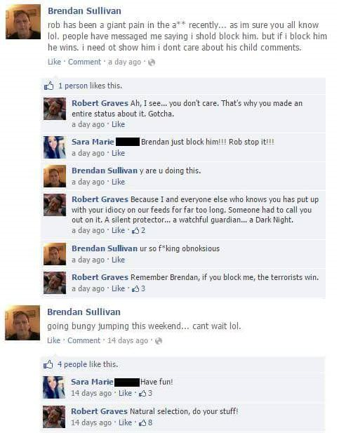 Lad Spends Days Masterfully Trolling His Moronic Mate On Facebook wpv9AzA