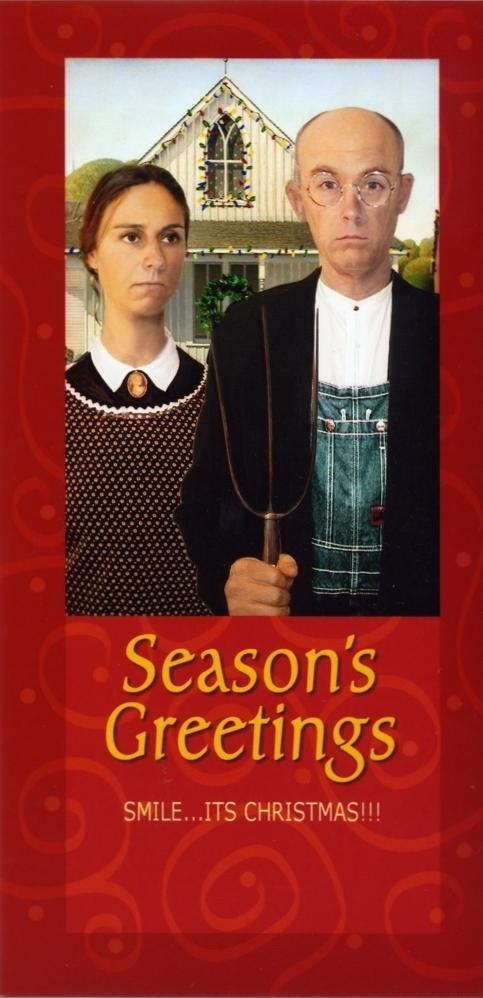 Family Win Christmas By Sending Hilariously Awkward Cards xmas cards2
