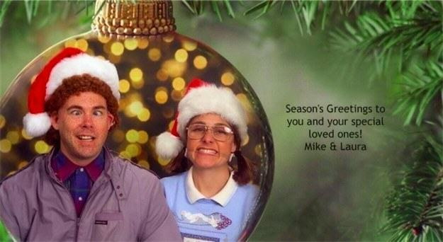 Family Win Christmas By Sending Hilariously Awkward Cards xmas cards3