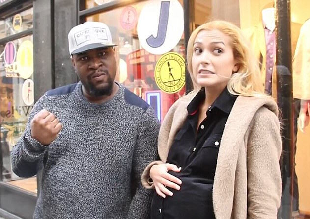 Man Punches Pregnant Girlfriend In The Stomach For Social Experiment, Internet Reacts Accordingly 2FFA4CDC00000578 3392415 Nathan Brown left and Amina Maz right set out to test people s r m 1 1452428352669